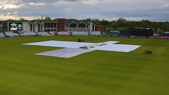 Rain Frustrates Notts on  Day 3 at Durham