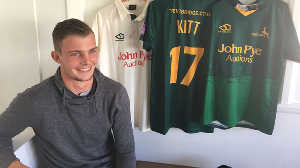 Kitt Snares Five As Notts Control Opening Day